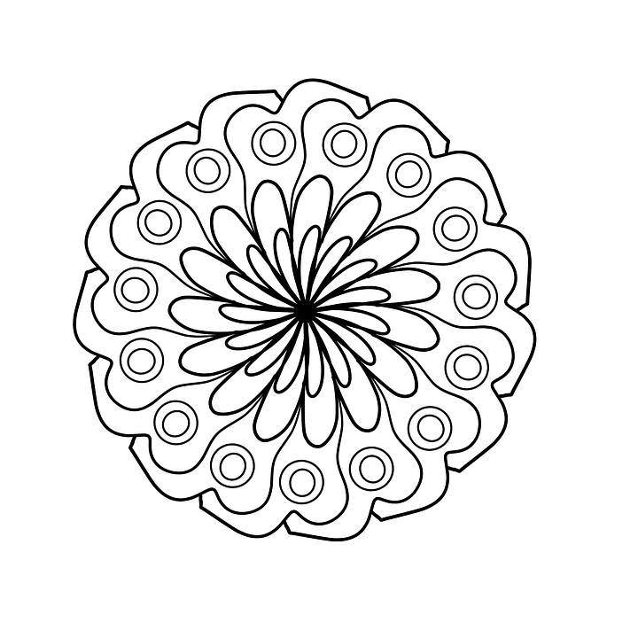 Magnifiek Mandala Coloring Page For · Free image on Pixabay @GU29