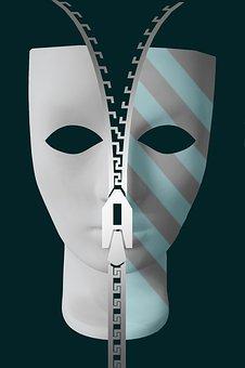 Psicología, Psique, Máscara, La Cara