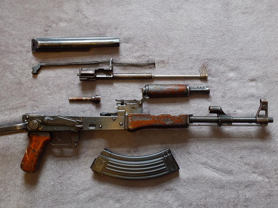 Ak47, Carabine, Terreur, Terrorisme, Militaire, Guerre