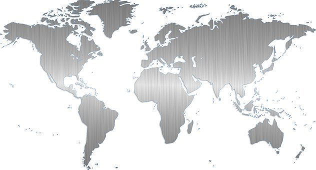 World Map Free images on Pixabay – Map World Black