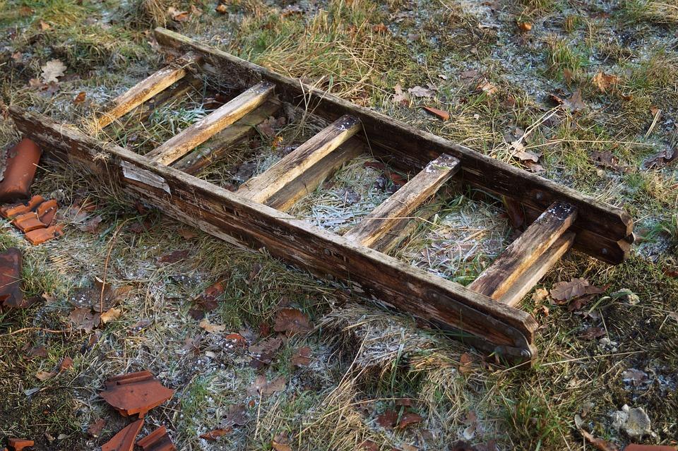 Holzleiter Holz Frost Kostenloses Foto Auf Pixabay