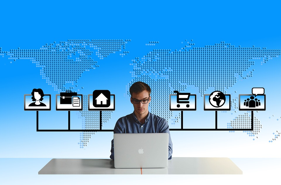 Social, Media, Manager, Monitors, Online, Organization