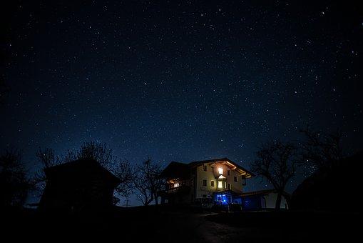 Ciel Étoilé, Nuit, Star, Ciel Nocturne