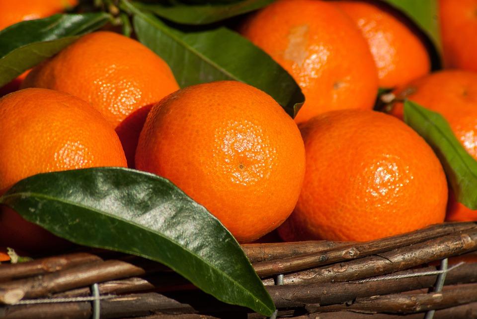 Frutta, Clementine, Agrumi, Mandarini