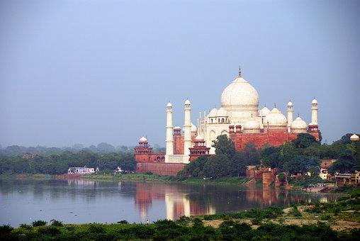 Ấn Độ, Du Lịch, Agra, Taj Mahal