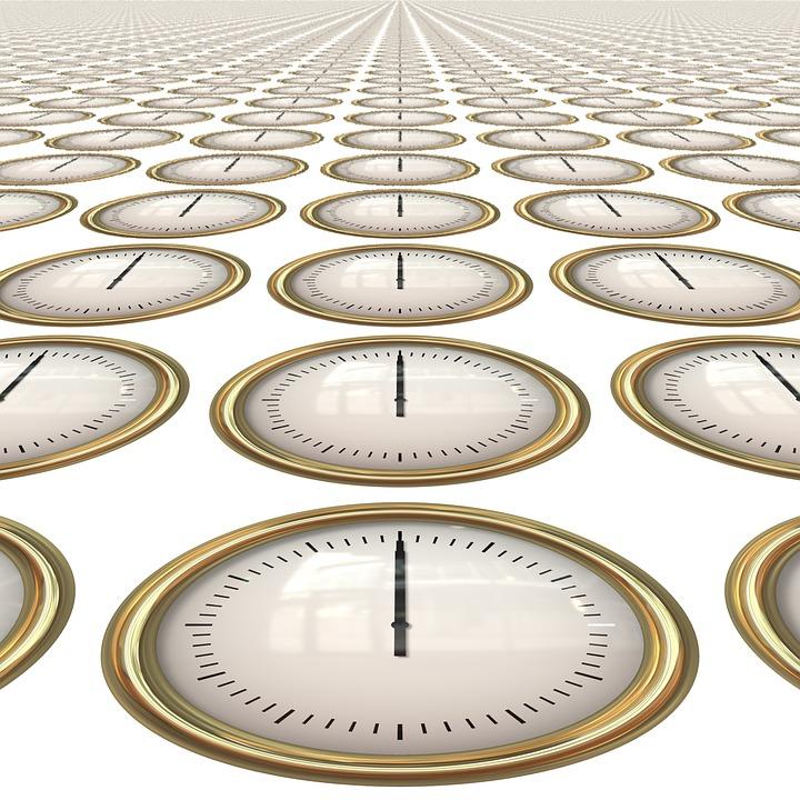 Zeit, Uhr, Nahtlose, Stunden, Minuten