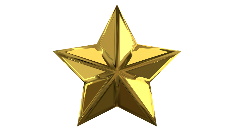 Stars Gold Color - Free image on Pixabay