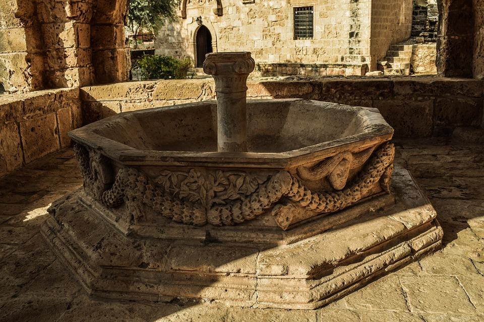 Cyprus, Ayia Napa, Fountain, Monastery, Medieval
