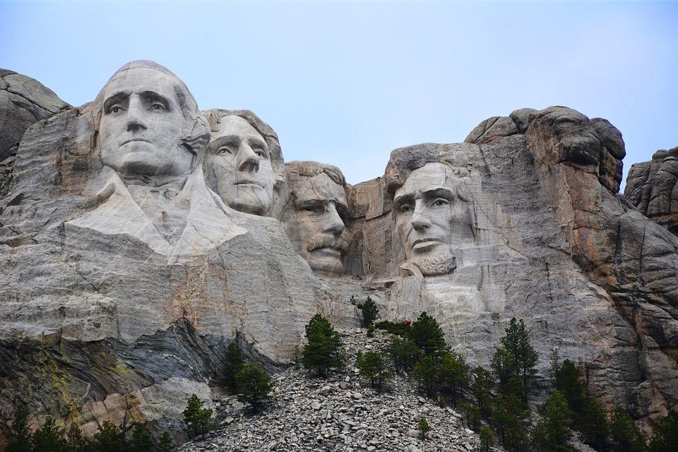 Monte Rushmore, Dakota Del Sud, Monumento, Storico