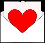 card, love, heart