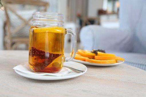 Water, Lemon, Cloves, Tea, Winter