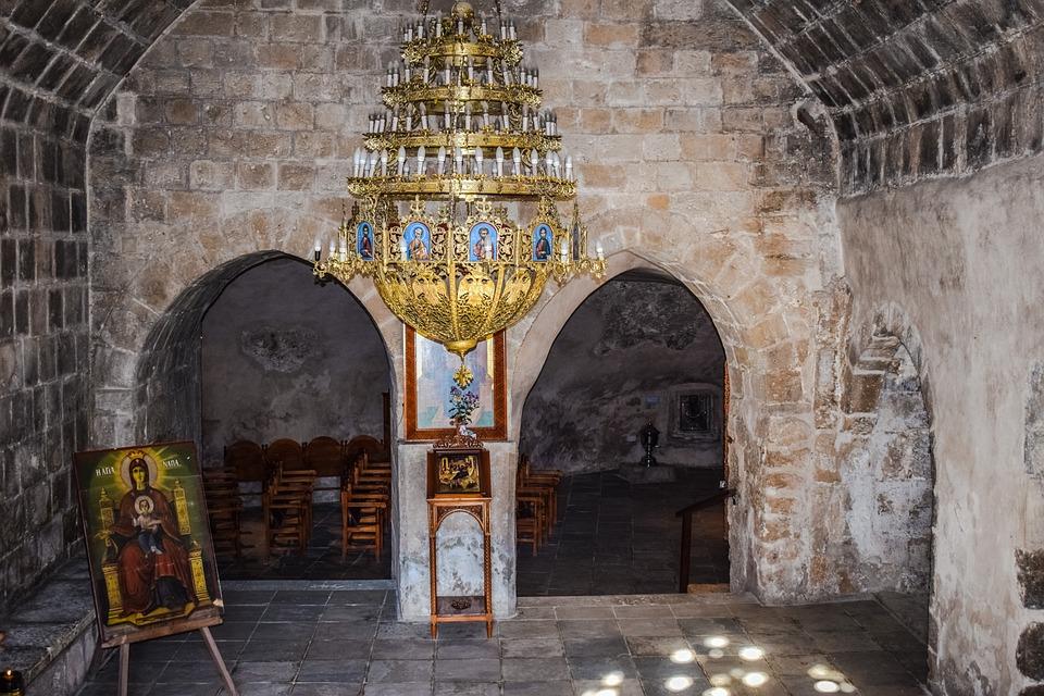 Cyprus, Ayia Napa, Monastery, Church, Medieval