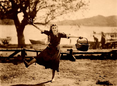 Mary Pickford, Dança, Feliz, Parque