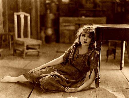Mary Pickford, Película Muda, Triste
