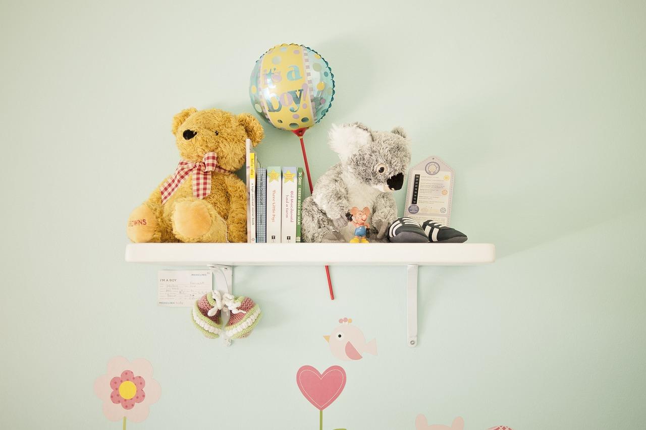 étagères décoratives enfants
