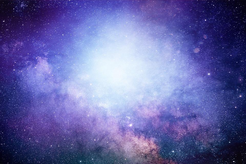 抽象的な, 宇宙, 煙, スター, スペース, コスモス, 背景, 神秘的な, ファンタジー, テクスチャ