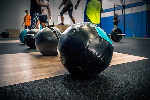 Crossfit Fitness Box Balon Alon Medicinal