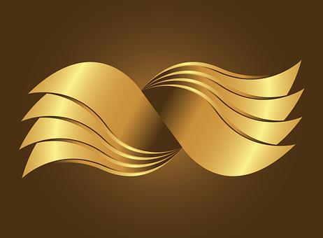 be035c4ad31b9 Golden Swing, Gold, Vector, Logo, Design
