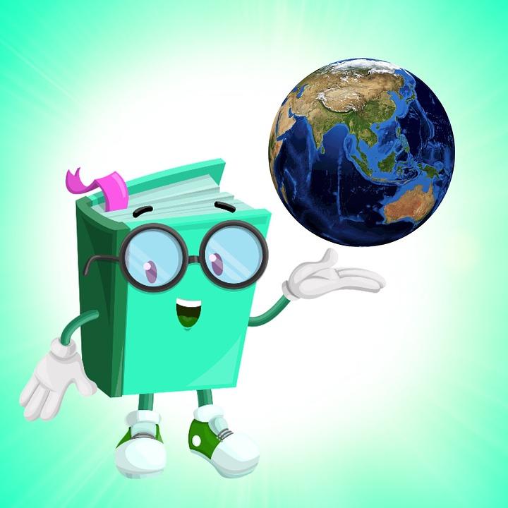 Profesor, Buku, Lucu Buku, Green Paper, Dunia, Bumi