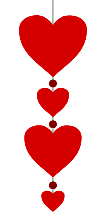Pendant Heart Valentine S Day Free Vector Graphic On Pixabay