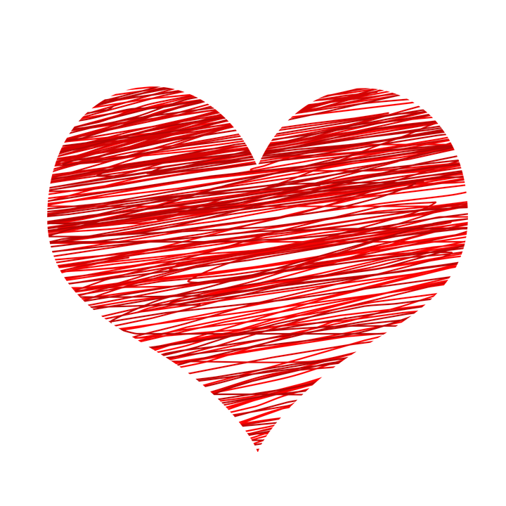 Coracao Amor Desenho Imagens Gratis No Pixabay