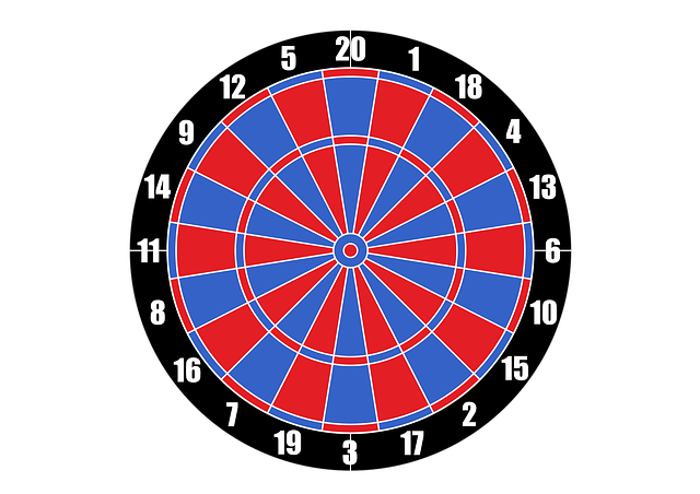 vector dartboard target darts 183 free vector graphic on pixabay
