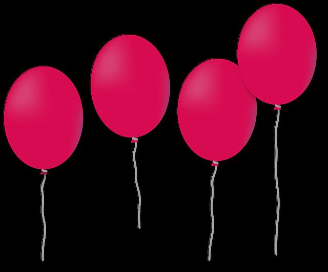 Ballon Anniversaire Ballonnement 183 Image Gratuite Sur Pixabay