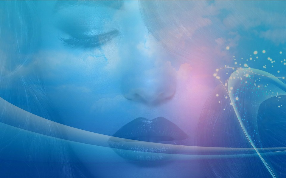 Free Illustration Woman Space Abstract Beauty Free