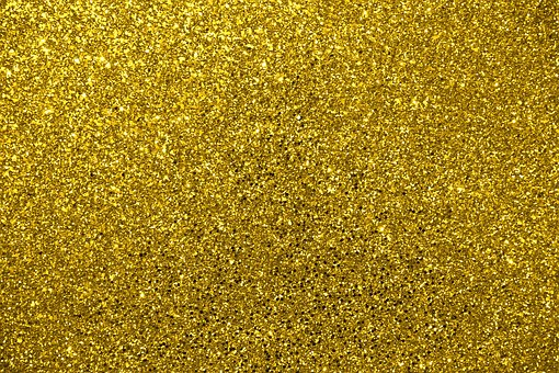 glitter gold metallic gold glitter