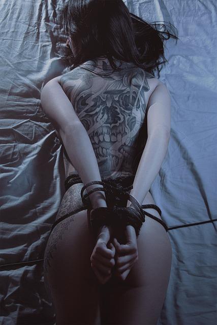 Bdsm Girl Tattoo  Free Photo On Pixabay-3355