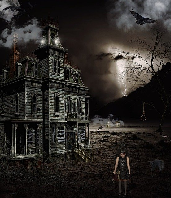 Picture This Photography And Graphics: Free Illustration: Spooky, Horror, Mystery, Creepy