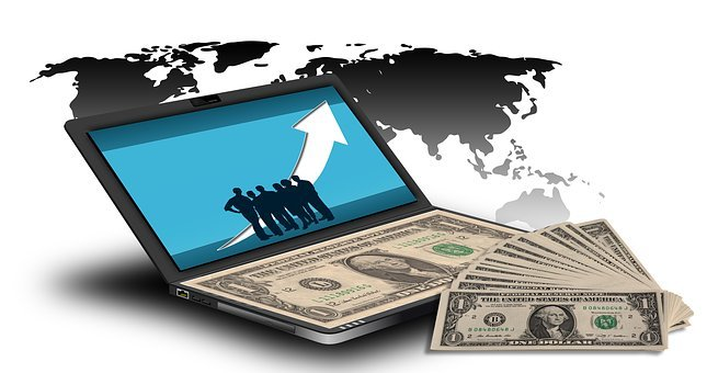 Dollar, お金, お金を稼ぐ, インターネット, ネットワーク, 市場経済