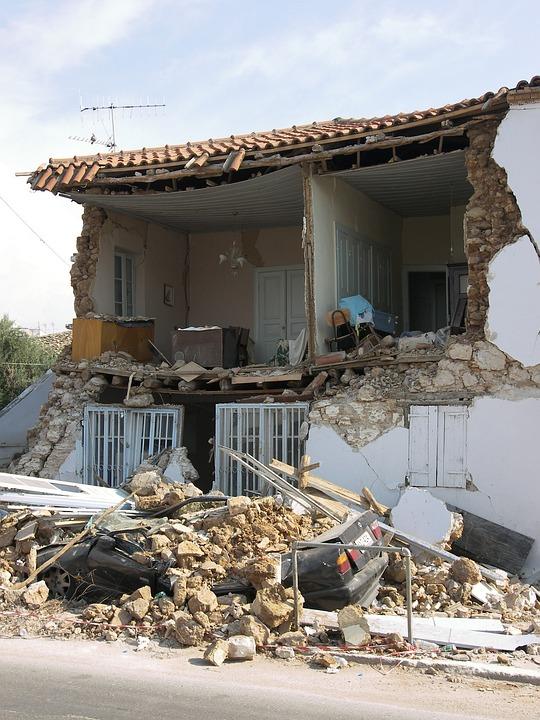 earthquake damage warwick ri