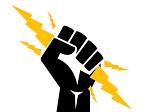 electrician, fist, power