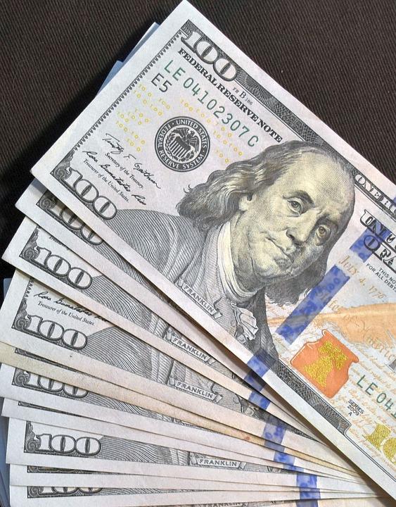 Money, Cash, 100 Dollar, Currency, Dollar, Financial