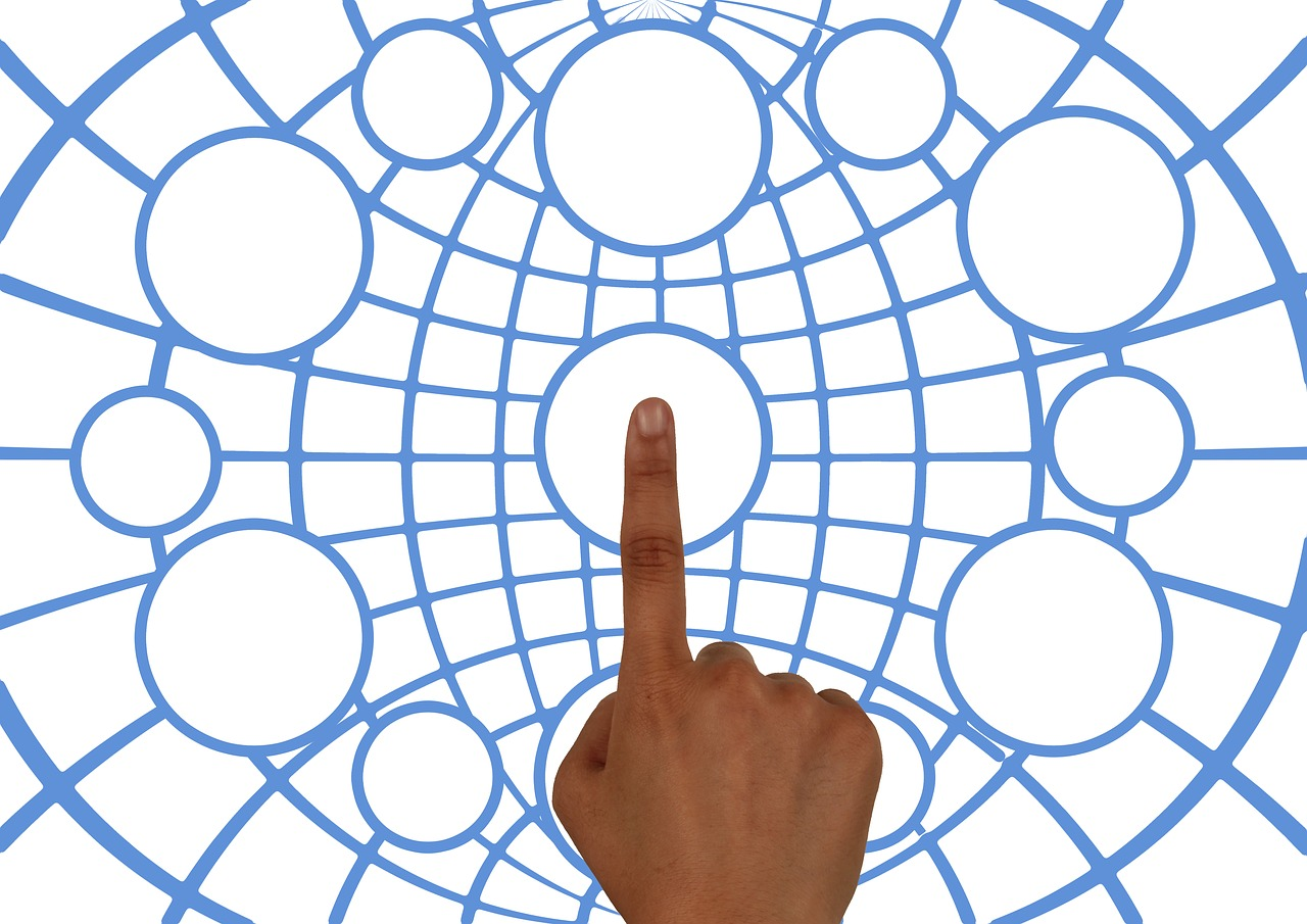 Web Network Hand - Free image on Pixabay
