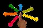 delegate, finger, hand