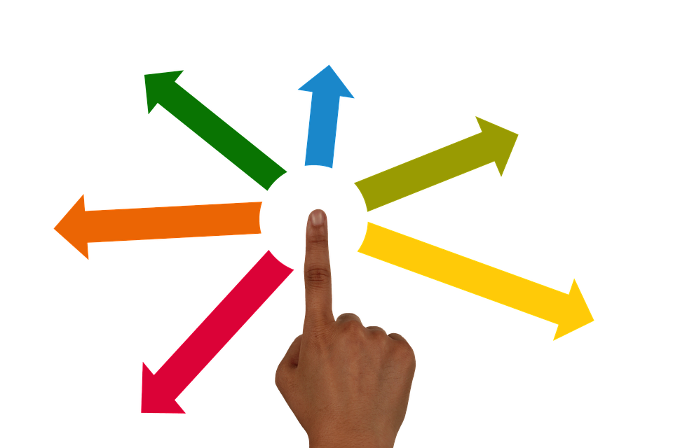 Delegate, Finger, Hand, Arrows, Touch, Applying