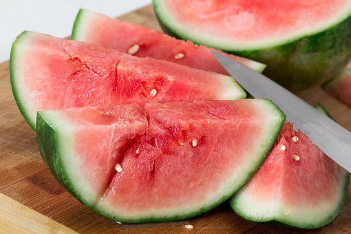 Watermelon Sweet Juicy Fruit Melon Ripe Re