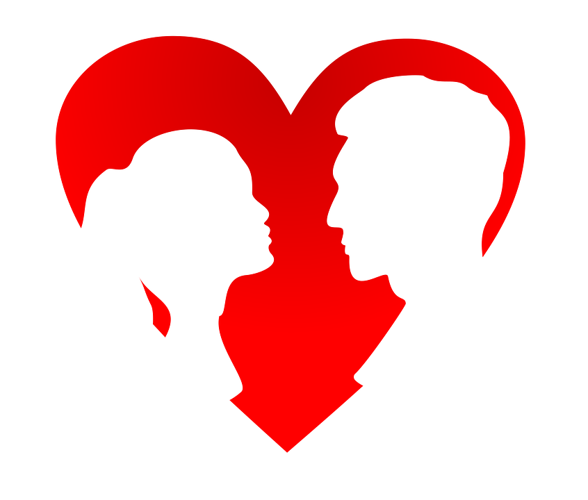 Valentines Day Vector Silhouette Free Vector Graphic On Pixabay