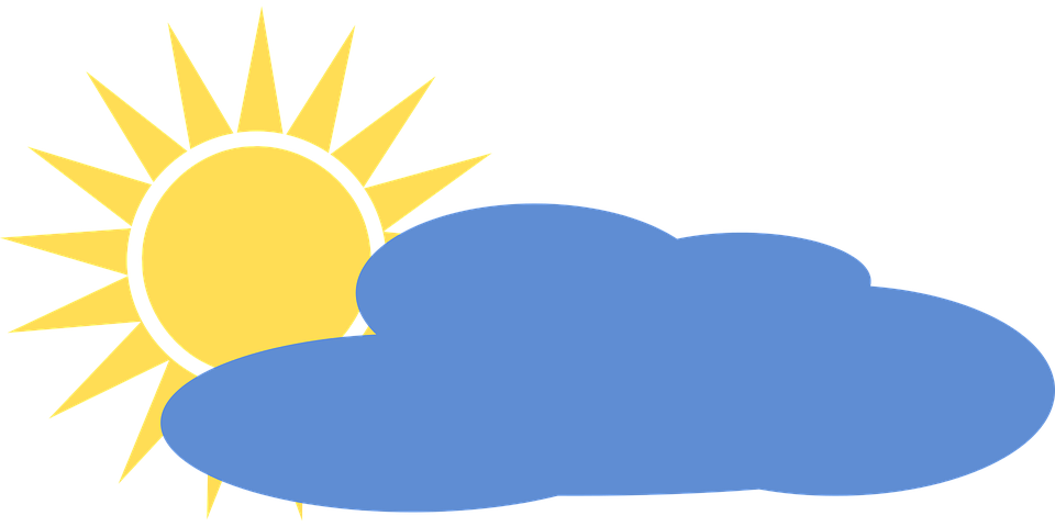 Bulut Hava Durumu Piktogram Pixabay Da Ucretsiz Vektor Grafik