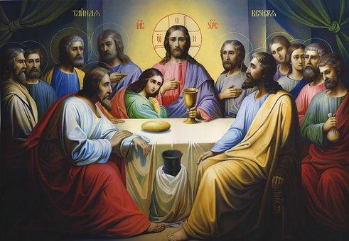 Icon, Lord'S Supper, Religion, Jesus