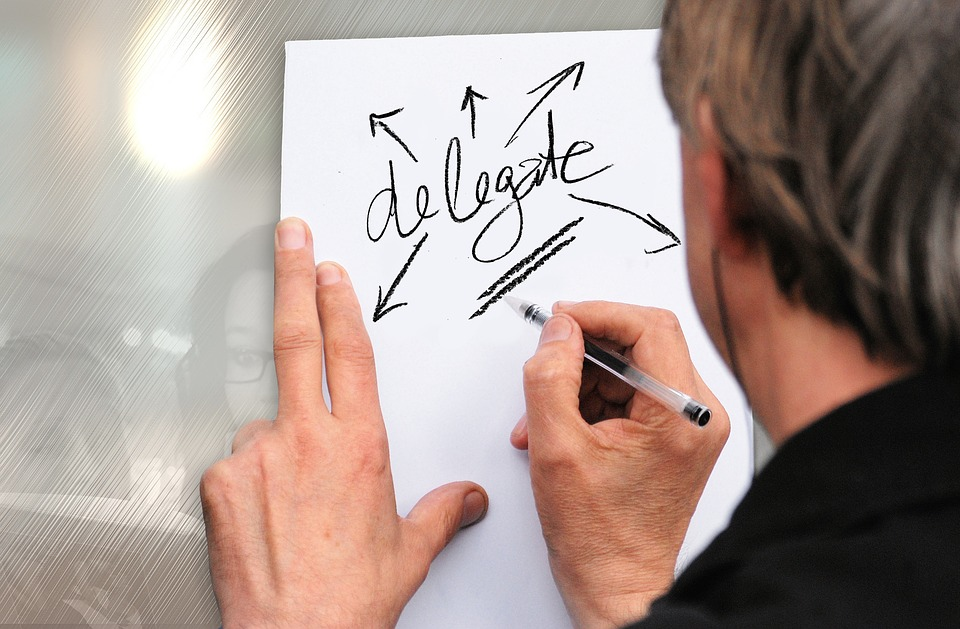 Delegate, Man, Businessman, Hand, Leave, Note, Memory
