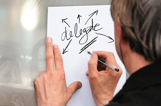 Delegate, Man, Businessman, Hand, Write