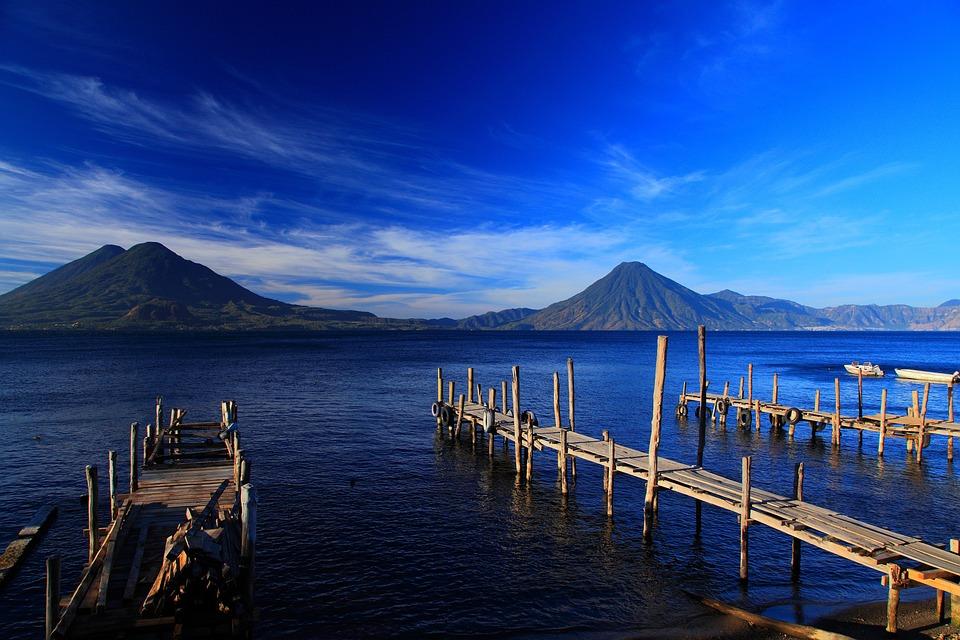 Gwatemala, Piękny, Jeziora