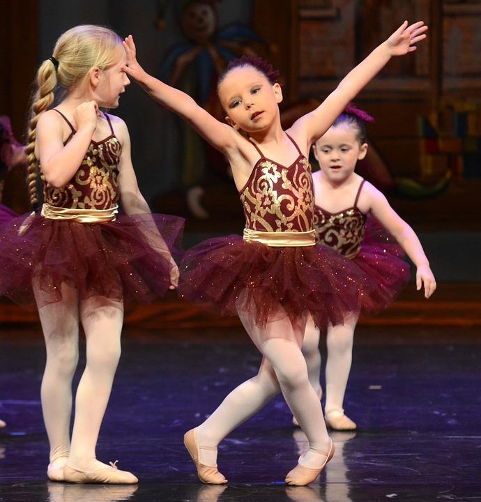Ballet, Children, Dance, Tutu, Performance, On Stage