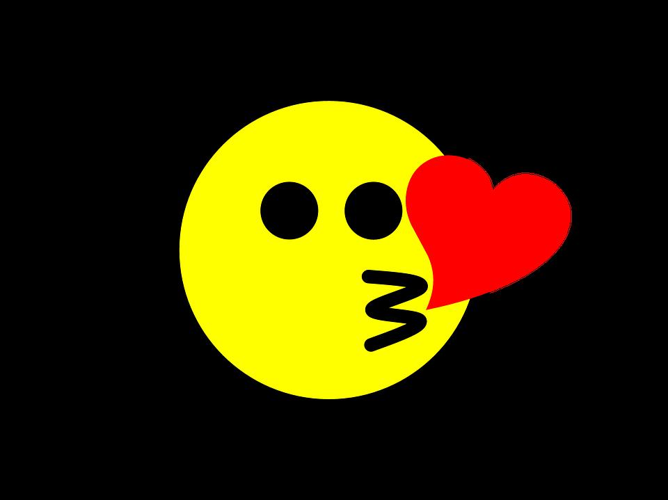 Emoji Kiss Icon Free Image On Pixabay