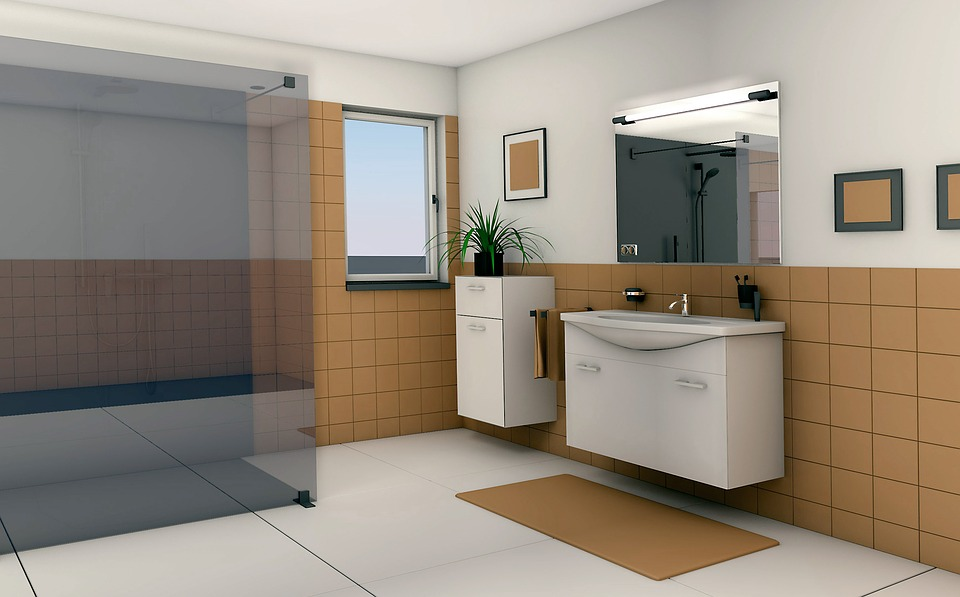Kostenlose Illustration: Bad, Galerie, Badezimmer, Wohnen ... Badezimmer Wohnen