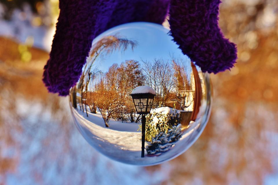 Bola De Cristal Transparente · Foto gratis en Pixabay