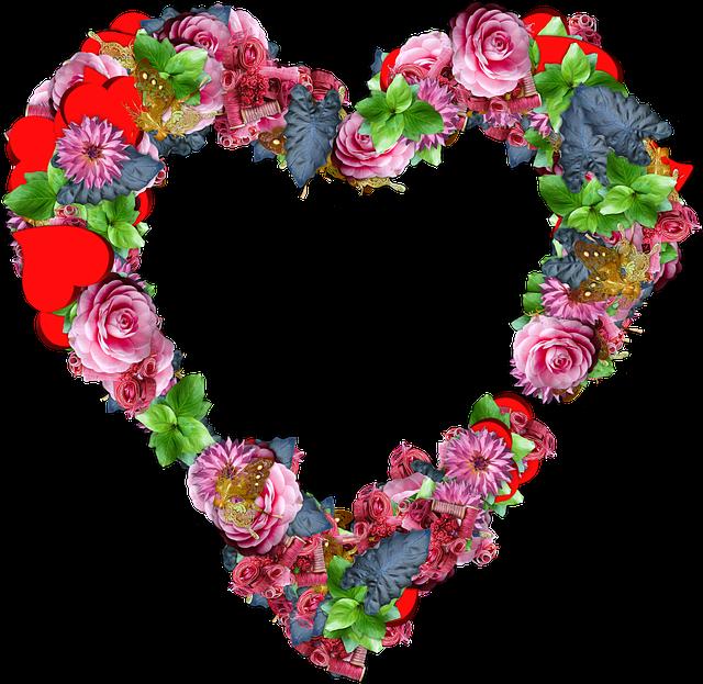 Про руки, картинки сердце с цветами
